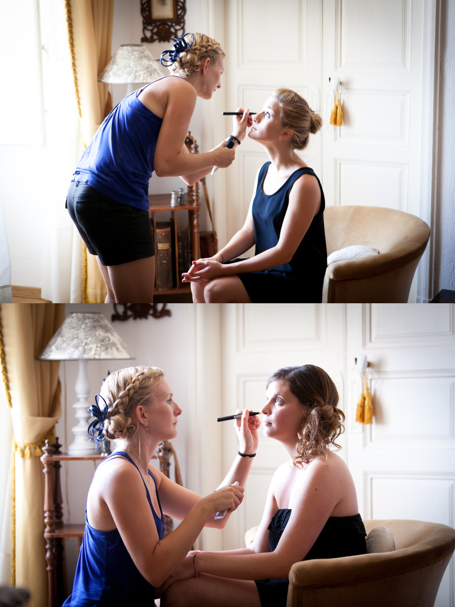 bridesmaid make up
